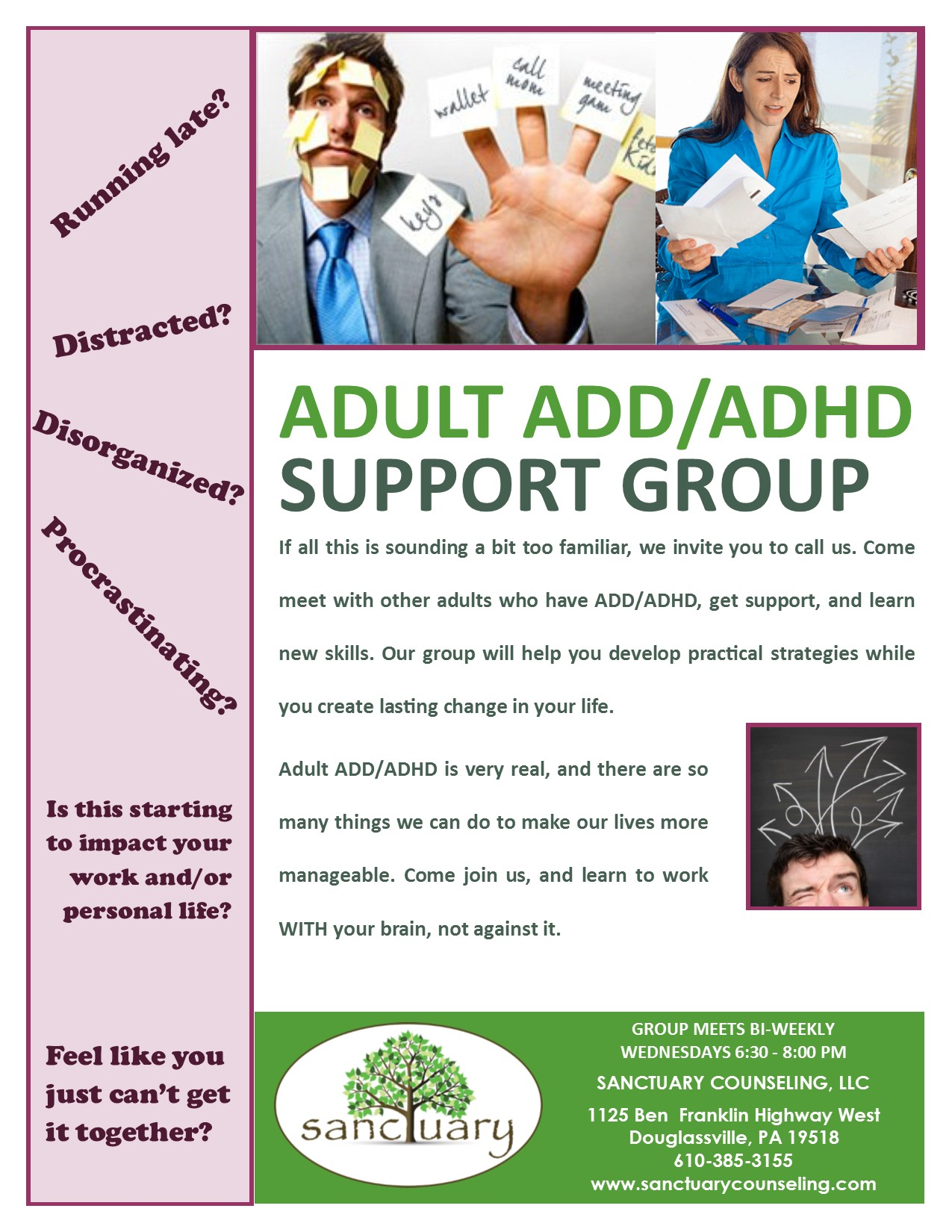 add adhd adult help montreal