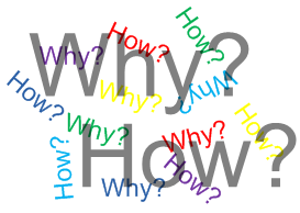 Why and How: 2 Flavors of the Same Question | Sanctuary Counseling